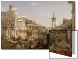 The Course of Empire: the Consummation of the Empire, C.1835-36 Posters by Thomas Cole