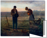 The Angelus, 1857-1859 Prints by Jean Francois Millet