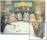 The after Dinner Speaker Prints by Louis Wain