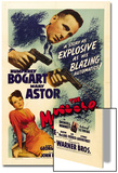 """The Gent From Frisco, 1941, """"The Maltese Falcon"""" Directed by John Huston Prints"""