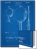 Ping Pong Paddle Patent Prints
