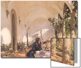 Breakfast in the Loggia, 1910 Prints by John Singer Sargent