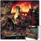 Hell Poster von Hieronymus Bosch