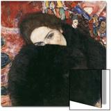 Lady with Muff, 1916-17 Prints by Gustav Klimt