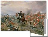 The Duke of Wellington at Waterloo Prints by Robert Alexander Hillingford
