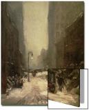 Snow in New York, 1902 Print by Robert Henri