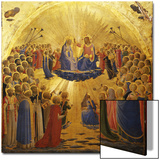 The Coronation of the Virgin, 1434-1435 Láminas por  Fra Angelico