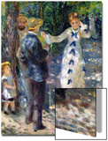 The Swing, 1876 Print by Pierre-Auguste Renoir