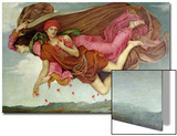 Night and Sleep, 1878 Art by Evelyn De Morgan
