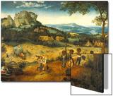 The Hay Harvest Posters by Pieter Bruegel the Elder