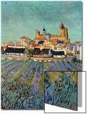Saintes Maries De La Mer Prints by Vincent van Gogh