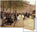 A Paris Street Prints by Jean Béraud