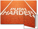 Push Harder Prints by igor stevanovic