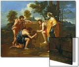 Arcadian Shepherds Prints by Nicolas Poussin