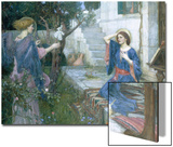The Annunciation, c.1914 Prints by John William Waterhouse