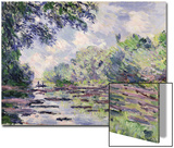 The Seine at Giverny, 1885 Posters by Claude Monet