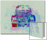 VW Beetle Watercolor 2 Posters by  NaxArt