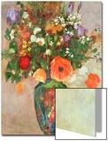 Vase De Fleurs Posters by Odilon Redon