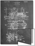 Steam Locomotive Patent Prints