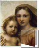 The Sistine Madonna Print by  Raphael