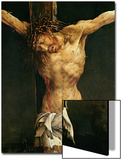 Christ on the Cross, Detail from the Central Crucifixion Panel of the Isenheim Altarpiece Posters by Matthias Grünewald