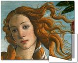 The Birth of Venus (Head of Venus), 1486 Prints by Sandro Botticelli