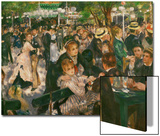 Dance at the Moulin De La Galette, 1876 Print by Pierre-Auguste Renoir