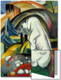 The White Dog (Hund Vor Der Welt), 1912 Posters by Franz Marc