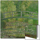 Waterlily Pond, Green Harmony, 1899 Print by Claude Monet