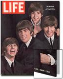 The Beatles, Ringo Starr, George Harrison, Paul Mccartney and John Lennon, August 28, 1964 Posters par John Dominis