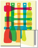 Utensil Stack Poster by  strawberryluna