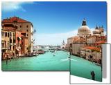 Grand Canal And Basilica Santa Maria Della Salute, Venice, Italy Prints by Iakov Kalinin