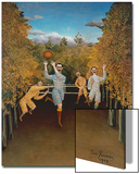 The Football Players, 1908 Print by Henri Rousseau