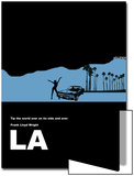 Los Angeles Poster Posters by  NaxArt