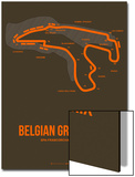 Belgian Grand Prix 1 Prints by  NaxArt