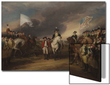 The Surrender of Lord Cornwallis at Yorktown, October 19, 1781, 1787-C.1828 Art by John Trumbull