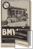 Advertisement for Bmw Engines Prints