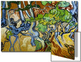 Tree Roots and Tree Trunks Affiches par Vincent van Gogh