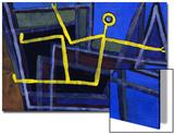 Framed; Im Gebalk Prints by Paul Klee