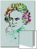 Beethoven Watercolor Posters by Anna Malkin