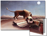 The Sleeping Gypsy, 1897 Poster by Henri Rousseau