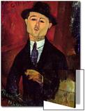 Paul Guillaume Novo Pilota, 1915 Print by Amedeo Modigliani