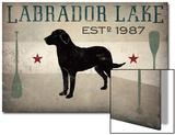 Labrador Lake Print by Ryan Fowler