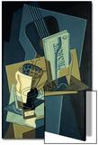 Music Book; Le Cahier de Musique, 1922 Prints by Juan Gris