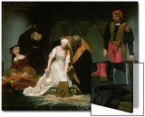 The Execution of Lady Jane Grey, 1833 Poster by Hippolyte Delaroche