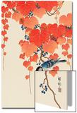 Bird and Red Ivy Affiches par Koson Ohara