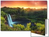 USA, Hawaii, Kauai, Wailua Falls Prints by Michele Falzone