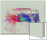 VW Bus Watercolor Prints by  NaxArt