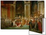Sacre De Napoleon (Coronation) in Notre-Dame De Paris by Pope Pius VII, December 2, 1804 Prints by Jacques-Louis David
