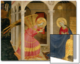 Cortona Altarpiece with the Annunciation Arte por  Fra Angelico